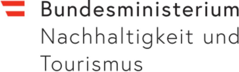 Logo Bundesministerium für Nachhaltigkeit und Tourismus