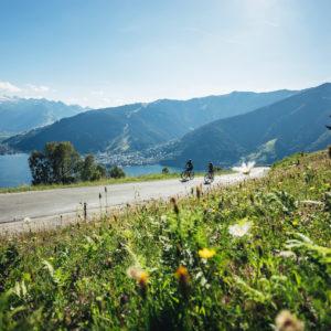 Radfahrer (©zellamseekaprun-tourismus)