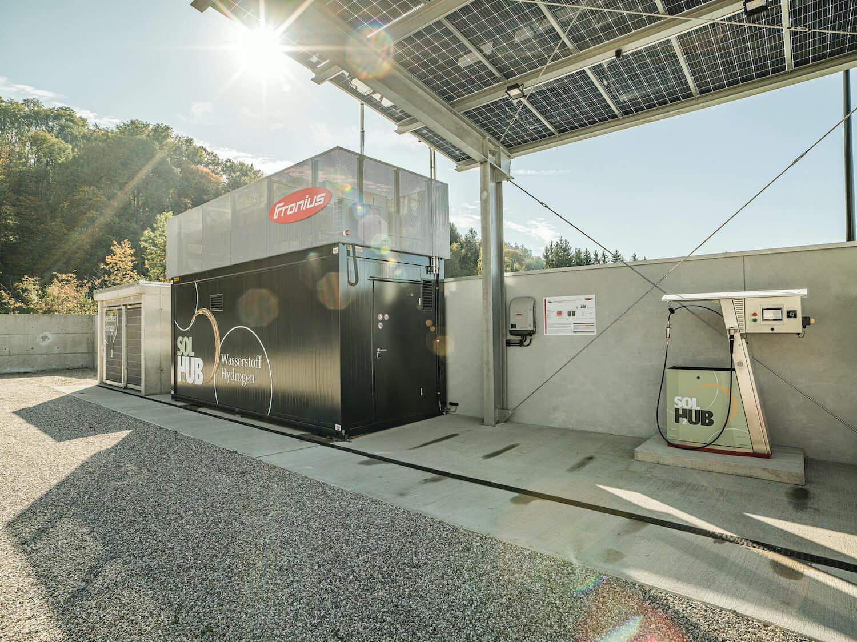 Wasserstoff-Tankstelle