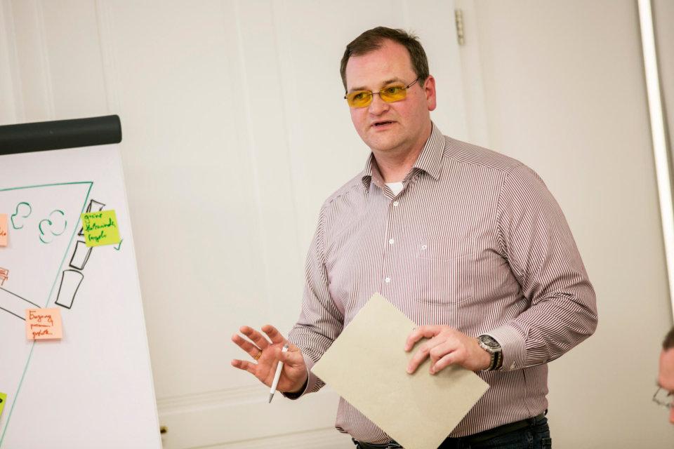 """Christian Groissmaier ist Vorstand des Bürger_innen-Beteiligungsvereins """"Smart Pölten"""", der Teil des Projektteams ist."""