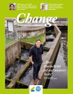 Cover des Change Magazin 2016/17Cover des Change Magazin 2016/17