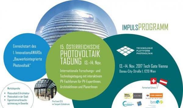 Einladung zur 15. Österreichische Photovoltaik-Tagung