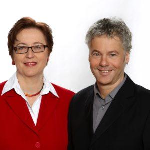 Geschäftsführer des Klima- und Energiefonds DI Theresia Vogel und DI Ingmar Höbarth